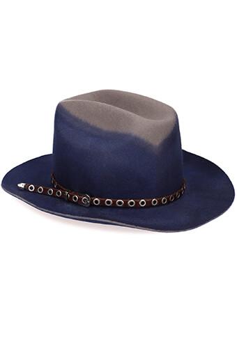 Golden Goose / Chapeau Tango bleu gris