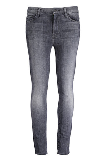 Mother / Jeans High Waisted Looker Ankle Fray