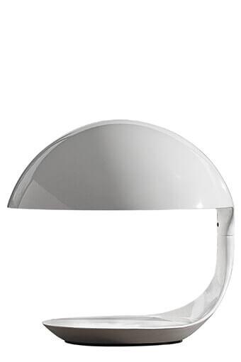 Martinelli / Lampe cobra blanche