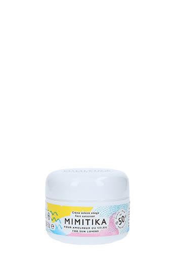 Mimitika / Crème Solaire Visage SPF50 50ml