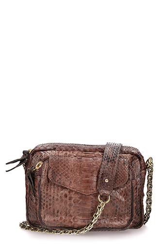 Claris Virot / Sac Charly dark brown