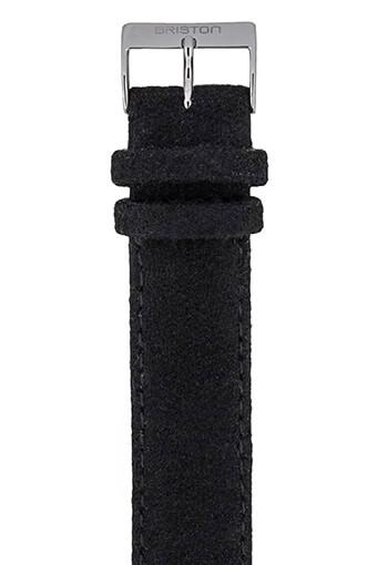 Briston / Bracelet interchangeable en flanelle - Noir
