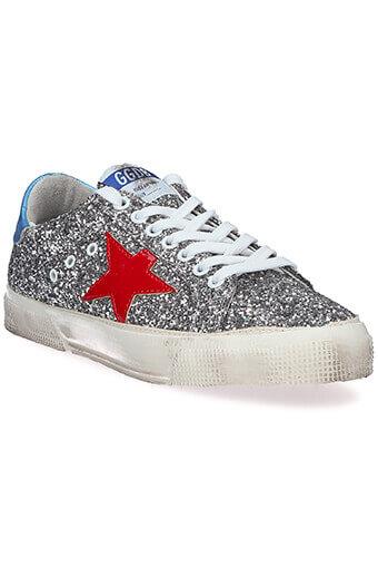 Golden Goose / Sneakers May grey glitter