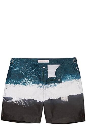 Orlebar Brown / Short de bain mi-long Oceans Edge