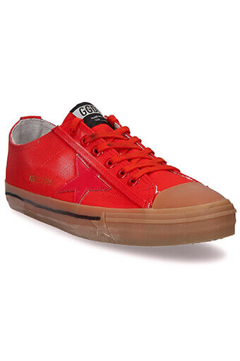 Golden Goose / Sneakers V-Star 2 rouge