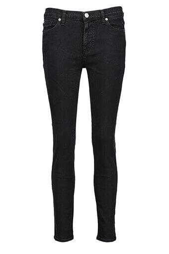Hudson / Jean nico midrise ankle super skinny noir vintage