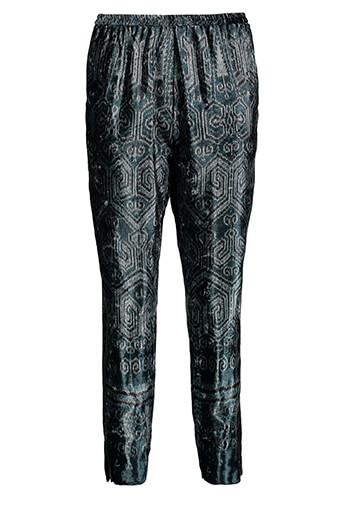 Forte Forte / Pantalon Ikat en velours
