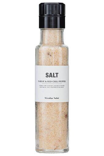 Nicolas Vahé / Moulin à sel, ail et piments de Cayenne 325g