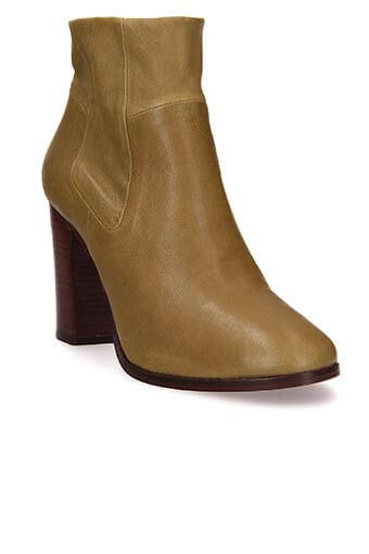 Stouls / Boots Calliope, cuir d'agneau plongé