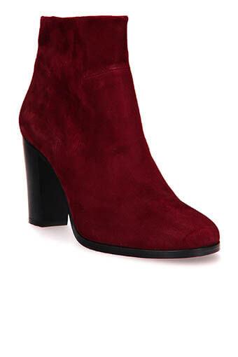 Stouls / Boots Calliope, cuir d'agneau velours