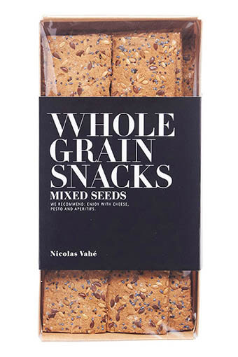 Nicolas Vahé / Wholegrain Crackers with Mixed Seeds 100g
