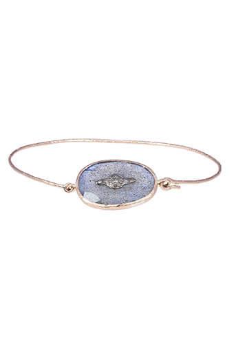 Pascale Monvoisin / Bracelet Garance n° 2 Labradorite