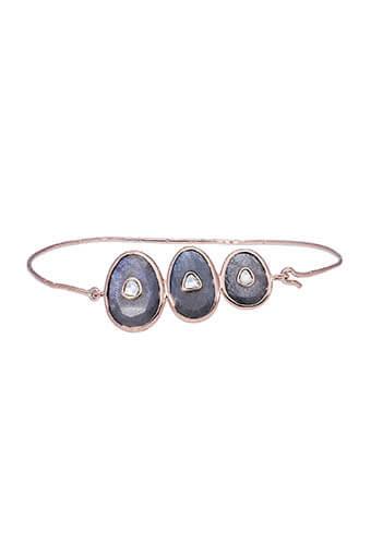 Pascale Monvoisin / Bracelet Louise n°3 Labradorite