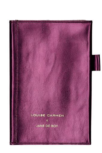 Louise Carmen / Portfolio porte-cartes personnalisé Jane de Boy