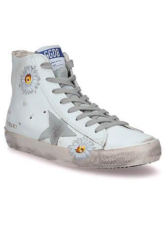 Golden Goose / Sneakers Francy Flowers