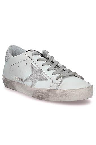 Golden Goose /  Sneakers Superstar, paillettes argentées