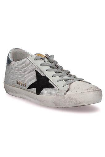 Golden Goose /  Sneakers Superstar, Lurex argent