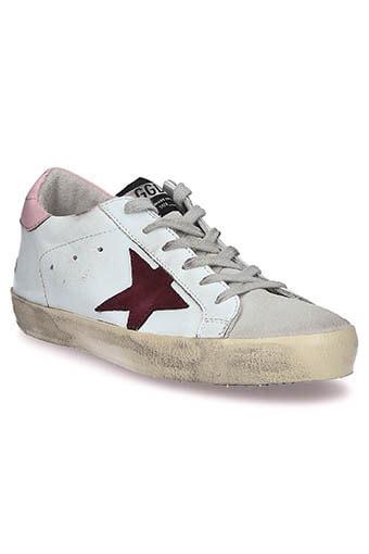 Golden Goose / Sneakers Superstar, patch rose