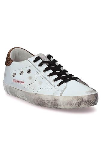 Golden Goose / Sneakers Superstar, patch léopard
