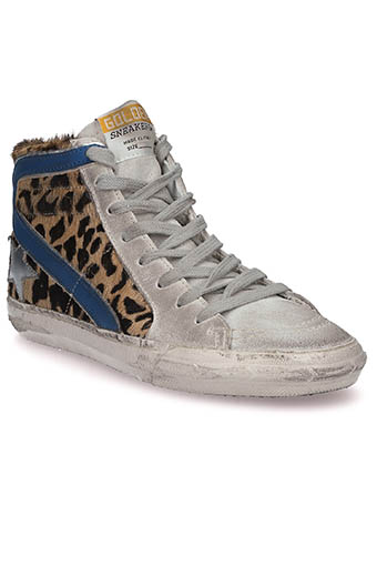 Golden Goose /  Sneakers Slide, léopard