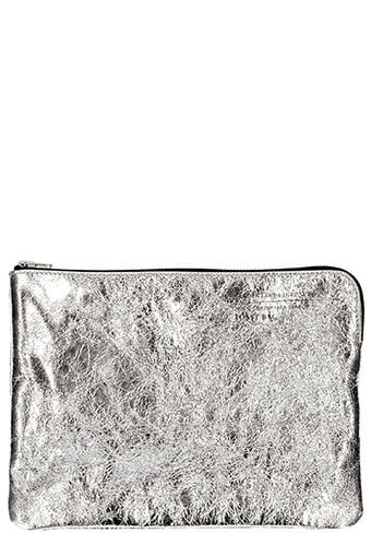 Golden Goose / Toast bag silver and gold