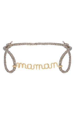 Atelier Paulin / Bracelet maman cordon de soie