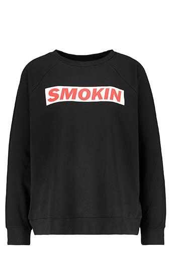 6397 / Sweatshirt Smokin Black