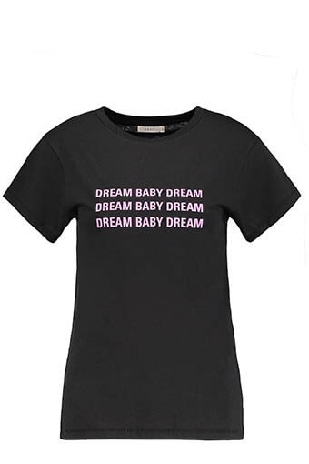 6397 / Tee-shirt Dream Baby Dream Black