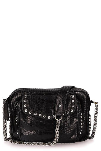 Claris Virot / Sac  Charly noir clous