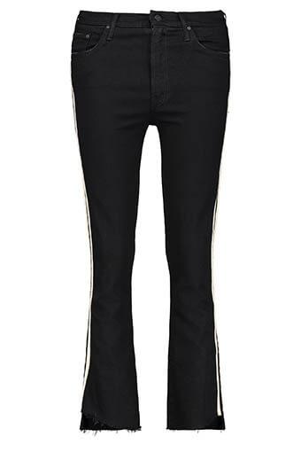 Mother / Pantalon Insider Crop Step Fray