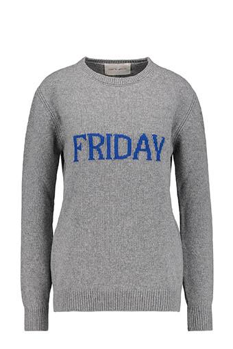 Alberta Ferretti / Pull Friday, gris