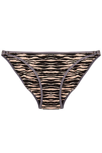 Love Stories / Bas de maillot de bain Shelby Zebra
