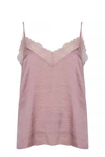 Love Stories / Top Camelia Deauville mauve