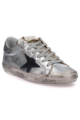 Golden Goose / Sneakers superstar Gold-silver
