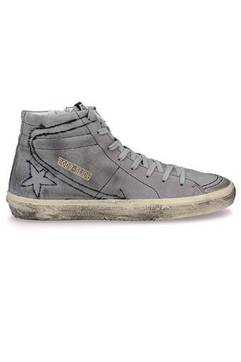 Golden Goose / Sneakers slide black homme