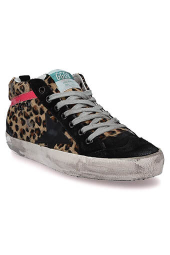 Golden Goose / Sneakers  Mid star léopard