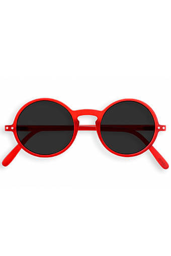 Izipizi / Lunettes de soleil #G Red crystal grey lenses