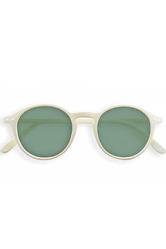 Izipizi / lunettes de soleil #D White clay G15 lenses