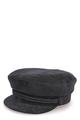 Don Paris /  Casquette marine velours
