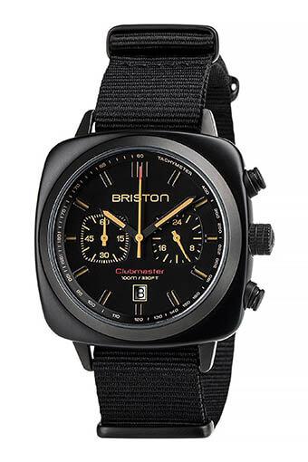 Briston / Clubmaster Sport noir mat