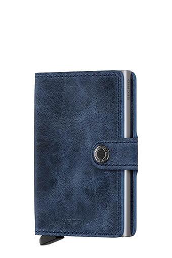Secrid / Mini wallet vintage blue