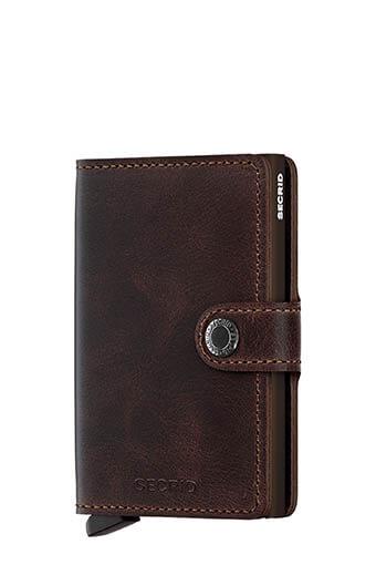Secrid / Mini wallet vintage Chocolate