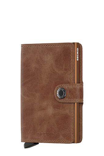 Secrid / Mini wallet vintage Cognac Rust