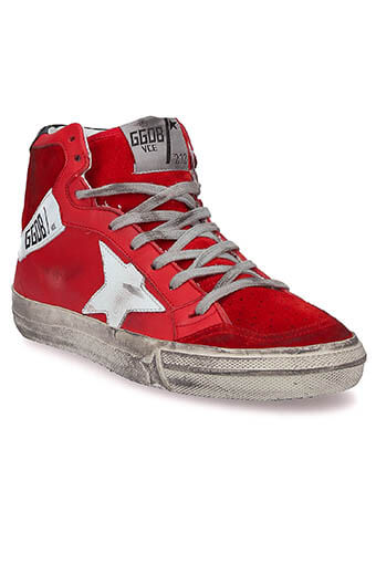 Golden Goose / Sneakers  2.12 red-white star