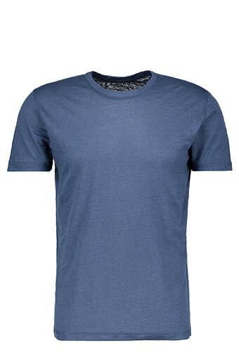 Majestic Filatures / Tee shirt manches courtes col rond lin