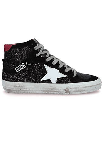 Golden Goose / Sneakers 2.12 glitter black