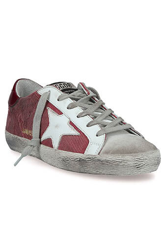 Golden Goose / Sneakers Superstar Brick Corduroy white star