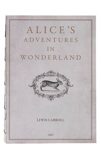 Slow Design / Mute book Alice's adventures