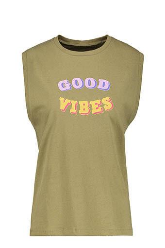 6397 / Débardeur Good Vibes Army