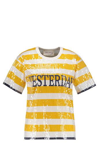 Alberta Ferretti / Tee shirt Yesterday à sequins
